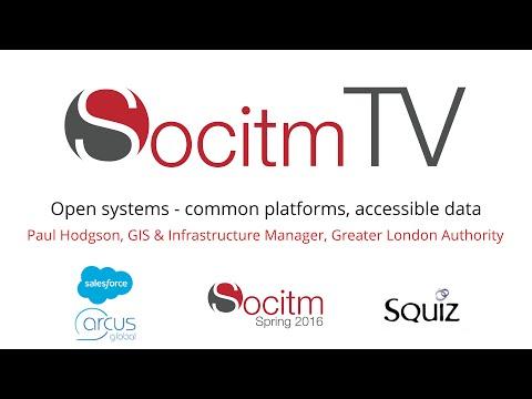 Open systems - common platforms, accessible data - Paul Hodgson