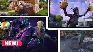Fortnite: Changes on the map, bugs and Halloween...