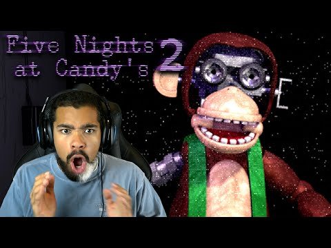 THAT MENU JUMPSCARED ME! | Five Nights at Candy's 2