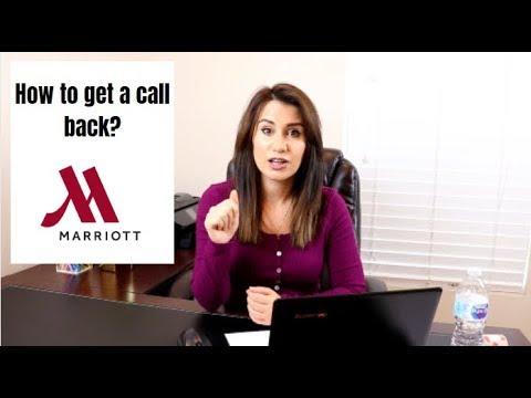 Marriott Careers| How To Get A Job