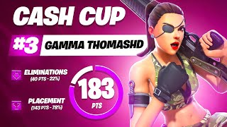 SOLO CASH CUP 3RD PLACE   Th0masHD