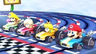 Mario Party The Top 100 Minigames - Rosalina Vs Mario Vs Wario Vs Peach All Minigames (Master Cpu)