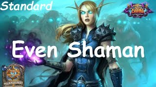 Hearthstone: Even Shaman #3: Boomsday (Projeto Cabum) - Standard Constructed