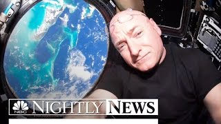 NASA Astronaut Scott Kelly Looks Back On His Year In Space NBC Nightly News
