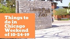 Things to do in Chicago this weekend! Halloween Weekend is here.