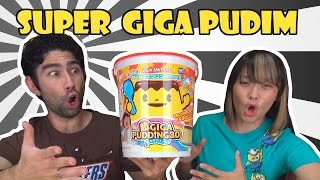 Super Giga Pudim (超ギガプリン) - Japão Nosso De Cada Dia