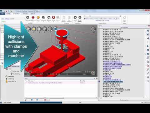 NCSIMUL Machine | Virtual CNC Machining | Collision Detection