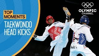 Top Taekwondo Headkicks | Top Moments