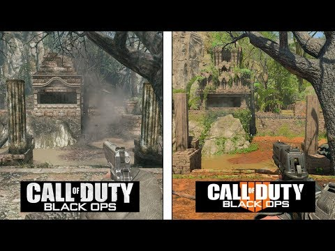 Call of Duty Black OPS 4 | Jungle Map Evolution | Black OPS 1 vs 4 Comparison