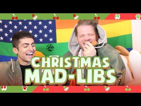 CHRISTMAS MAD-LIBS!