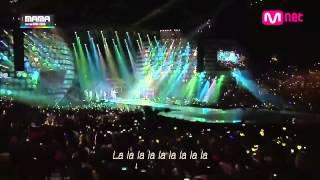 [ HD 繁中 ] GD X TAEYANG (BIGBANG) - 눈, 코, 입+GOOD BOY @ MAMA 2014 Live