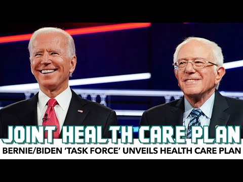 Bernie/Biden 'Task Force' Unveil Health Care Plan
