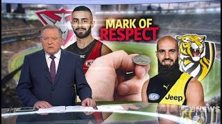 Nine News. ALF Abusing Patrons With Islamic Propaganda.(Football)(Fraser Anning)