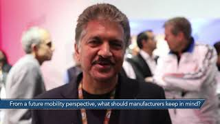 In Conversation With Anand Mahindra From The Tata Motors Pavilion Auto Expo 2018