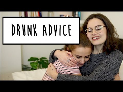 DRUNK ADVICE WITH LUCY MOON | Hannah Witton