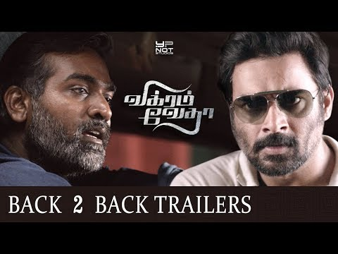 Vikram Vedha Tamil Movie Back 2 Back Latest Trailers   Madhavan   Vijay Sethupathi   Pushkar Gayatri