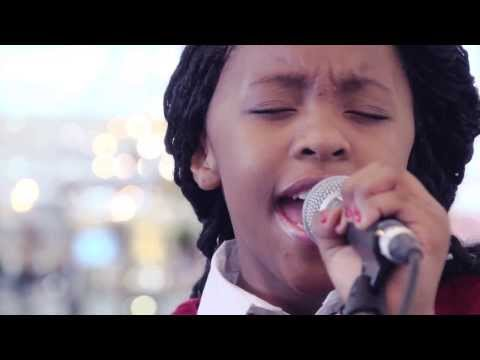 The Scouts' Christmas Album - Asanda Jezile LIVE - 'Do They Know It's Christmas?'