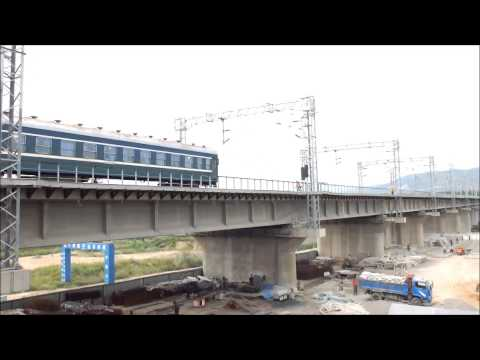[China Railway] Electric locomotive type SS1 in Taiyuan 太原で活