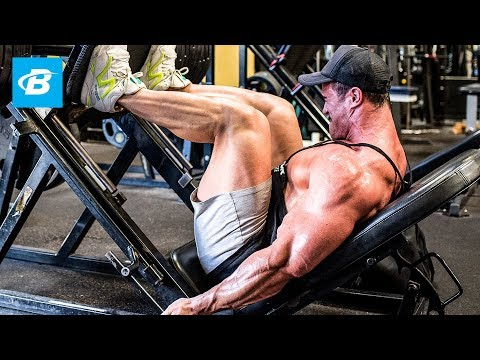 Calum Von Moger's Bodybuilding Leg Workout for Mass | Ep 1 | Building Von Moger