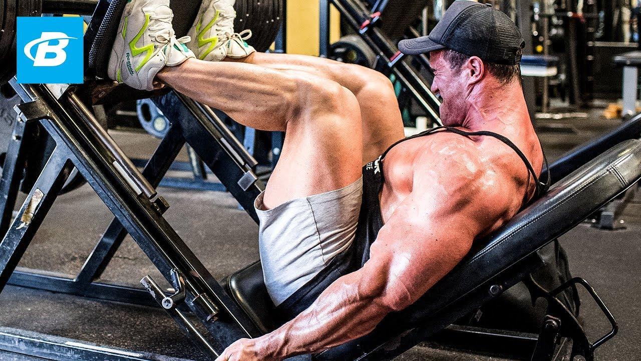 Calum Von Moger Eats Breakfast & Legs Workout for Mass | Episode 1 ...