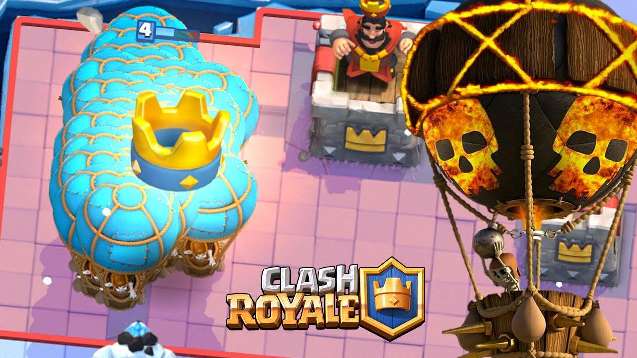 Clash Royale IL GAGNE UN TOURNOI 1000 JOUEURS AU DECK BALLON !