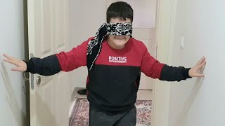 Buğra Körebe Oldu. Children Playing Blind Fun Kids Video