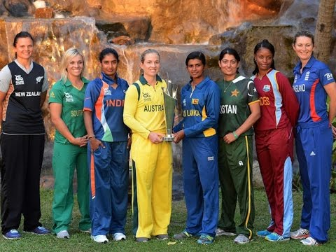 ICC Women's World Cup 2017 Countdown - YouTube