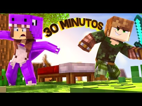 BED WARS ÉPICO de 30 MINUTOS! - Minecraft