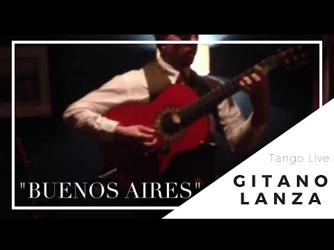(Globe Cafe & Tapas Bar) Buenos Aires Tango - Lance Carr Guitar