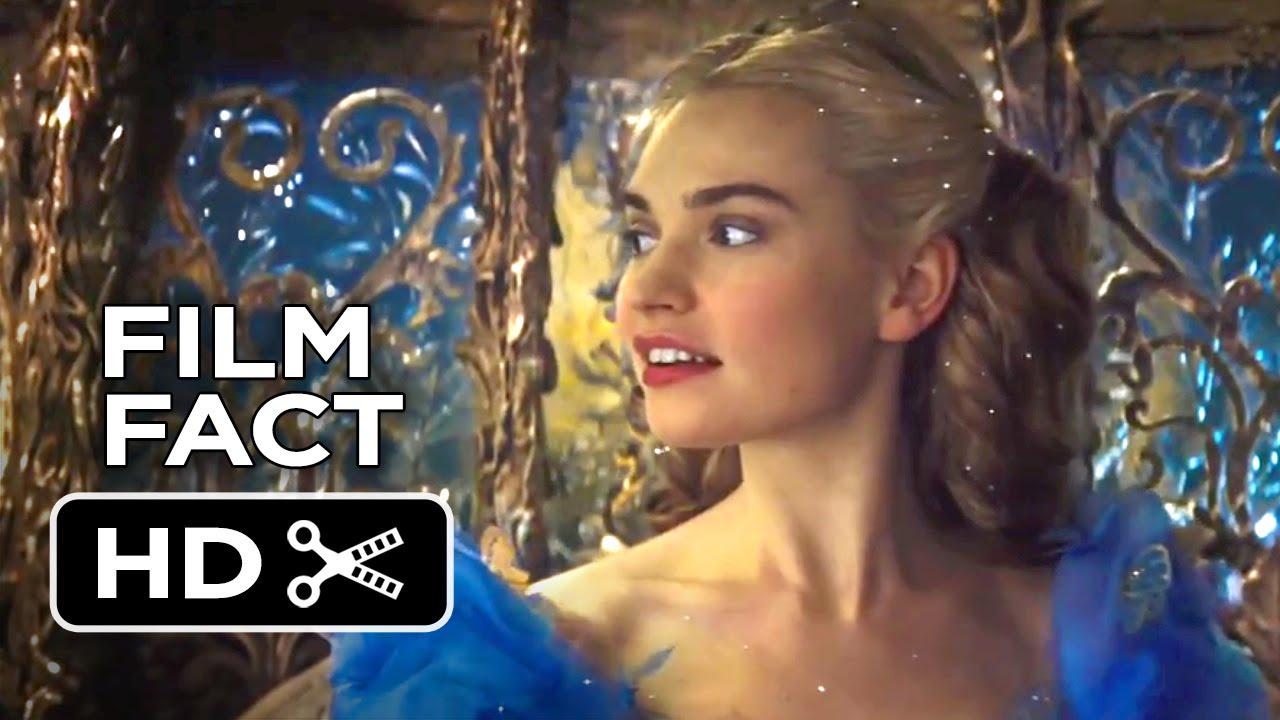 Cinderella Film Fact 2015 Lily James Helena Bonham Carter Disney Movie Hd Youtube
