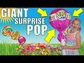 WORLD'S LARGEST LOLLIPOP!! Pikmi Pop SURPRISE!