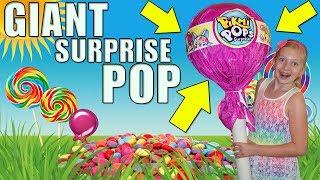 WORLD'S LARGEST LOLLIPOP!! Pikmi Pop SURPRISE!