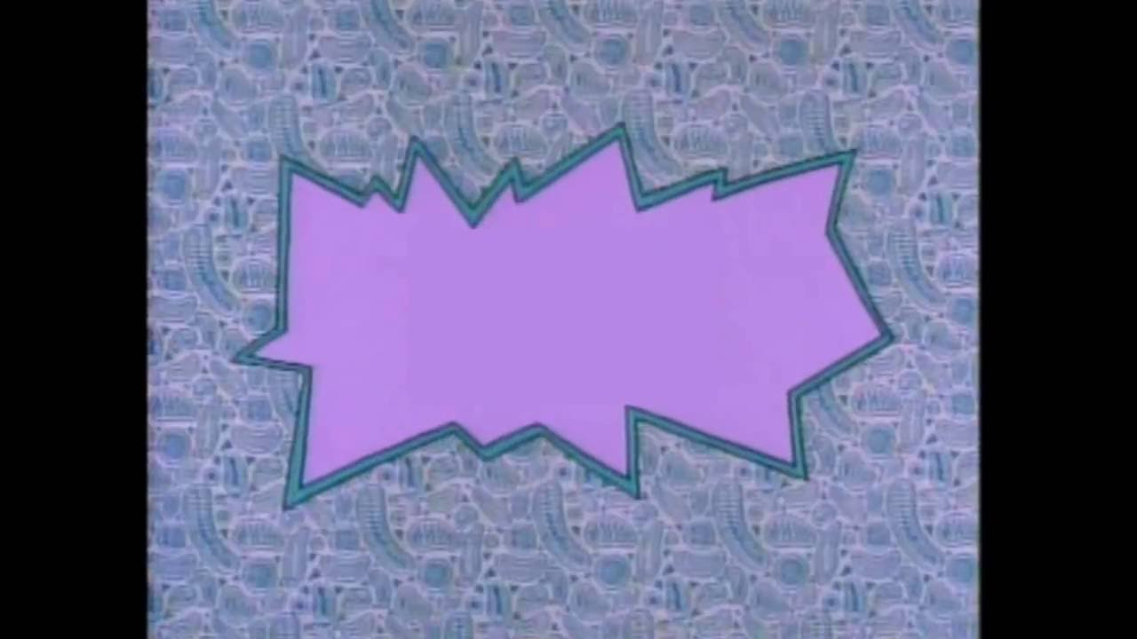 make your own rugrats title bubble   card