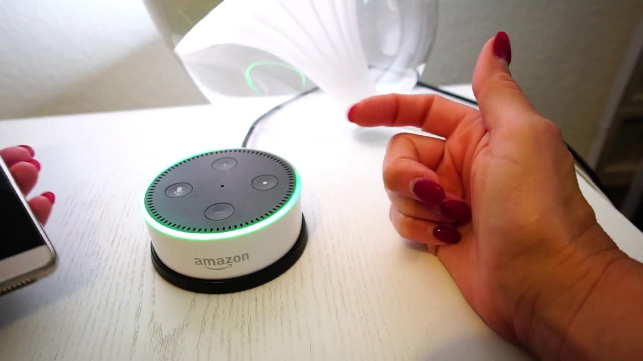Alexa Echo Dot Telefonieren Mit Anderen Echo Geräten Youtube