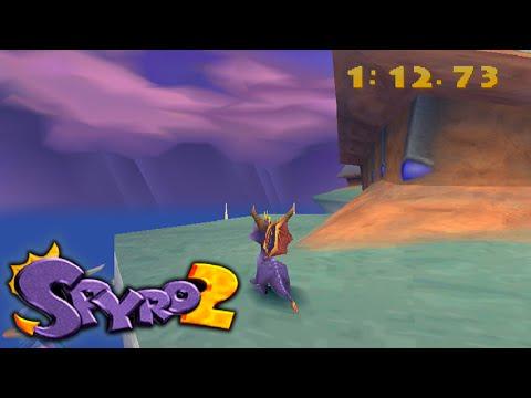 Spyro 2 Glitch Guide -  Ocean Speedway, Canyon Speedway