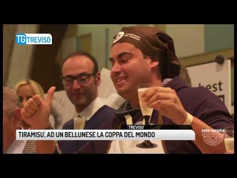 TG TREVISO (06/11/2017) - TIRAMISU', AD UN BELLUNESE LA COPPA DEL MONDO