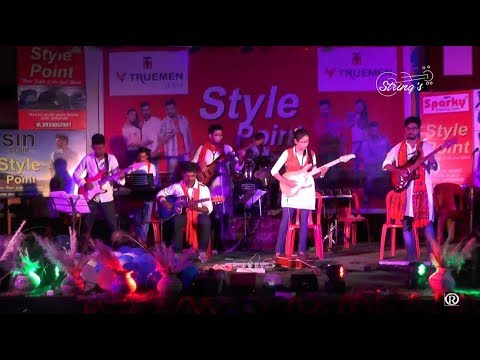 BENGALI ROCK BAND MASHUP LIVE GUITAR INSTRUMENTAL VERSION 2017 HD ||