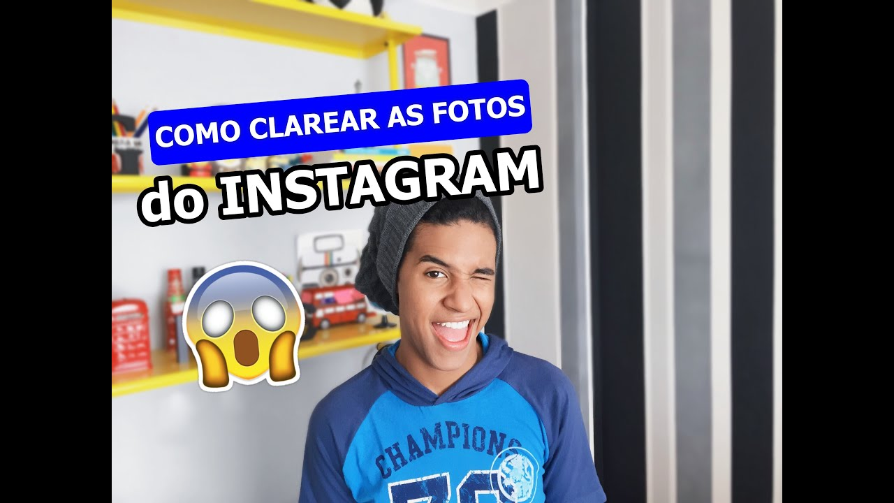 Como Clarear O Feed Do Insta Com App Gratis Youtube