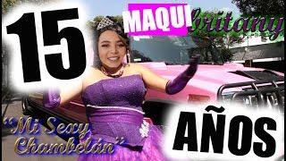 Mi fiesta de Quinceañera! Quinceañera Parte 1 #MAQUInaderecuerdos - Maqui015 ♥