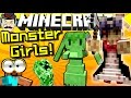Minecraft MONSTER GIRL MOBS! Haunted Dolls, Ghosts, Slime Girls & More!