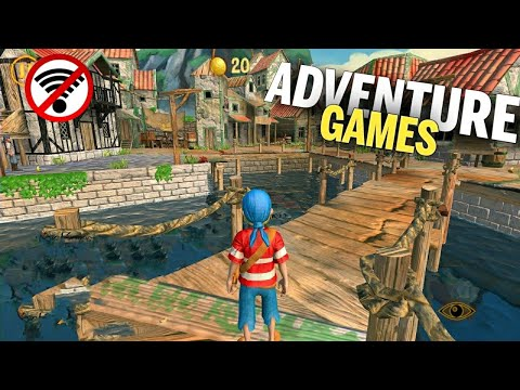 Top 20 OFFLINE Adventure Games For Android 2019 HD