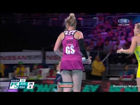 2017 Fast5 Netball World Series: successful 3-point shots
