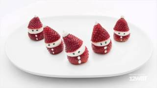 We Wish You a Merry Christmas - Singing Strawberry Santas