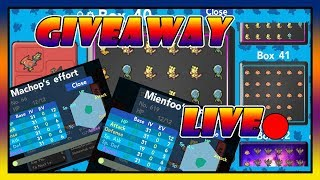 * LIVE * 5X31 BREEDJECTS GIVEAWAY em POKEMON BRICK BRONZE/ROBLOX!