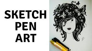 Simple Drawings Using Pen 1
