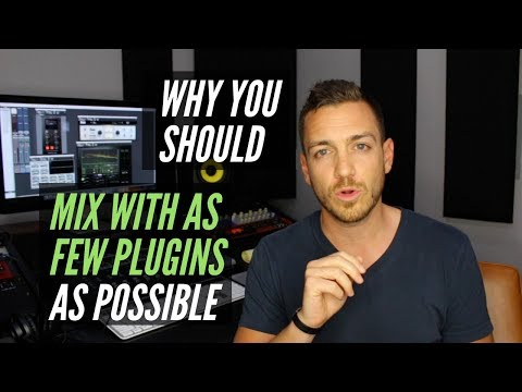 Mix With As Few Plugins As Possible – RecordingRevolution.com