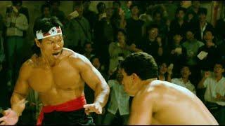Bloodsport Кровавый спорт Bolo Yeung Боло Йен все бои из фильма