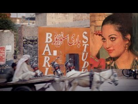 """BARI STUDIO LAHORE TOUR""  Film Actress Kavita Shooting The Film PABANDI. A talk with Kavita PTN-USA"
