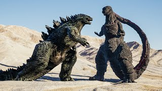 Epic Godzilla Battle Scenes by Dazzling Divine