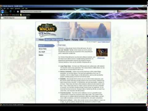 ITRWOW private server registration